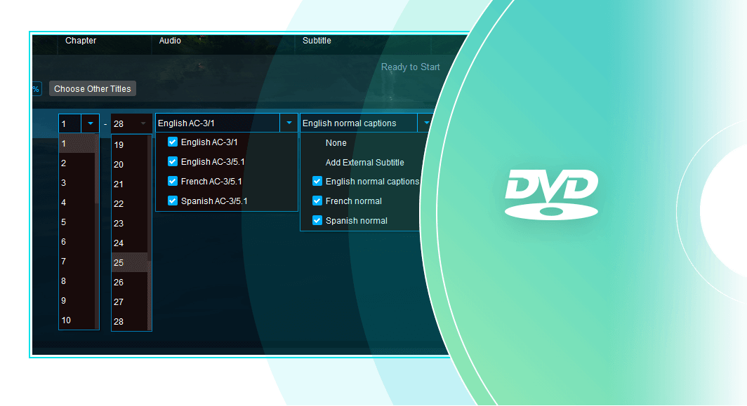 dvdfab blu-ray to dvd converter for mac fonctionnalité 3