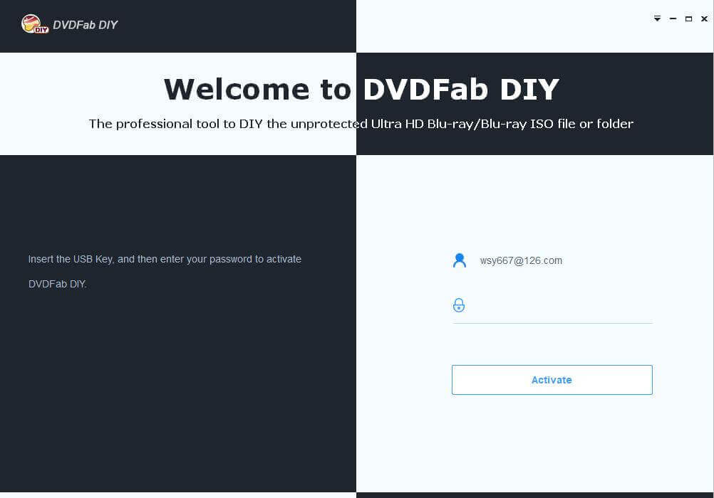 dvdfab DIY capture d'écran 1
